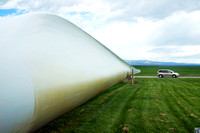 Wind Turbine Blade, Judith Gap