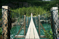 Suspension Bridge, Kootenai River