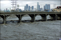 L.A. River (after winter storm)