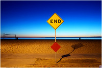 Venice~End Signs
